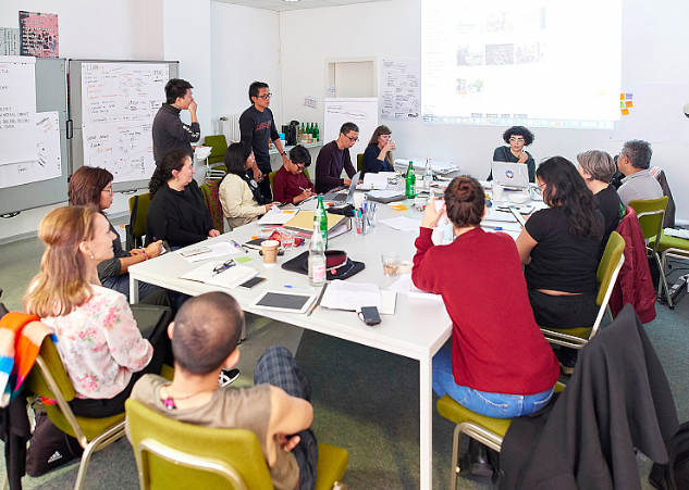 ruangrupa Artistic Team assembly in Kassel, 2019 Photo by Nicolas Wefers.png