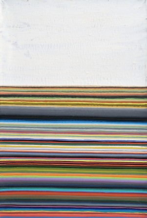 Wang Guangle, Nine Cans of Acrylic, 2004; Acrylic on canvas, 76x51cm.jpg
