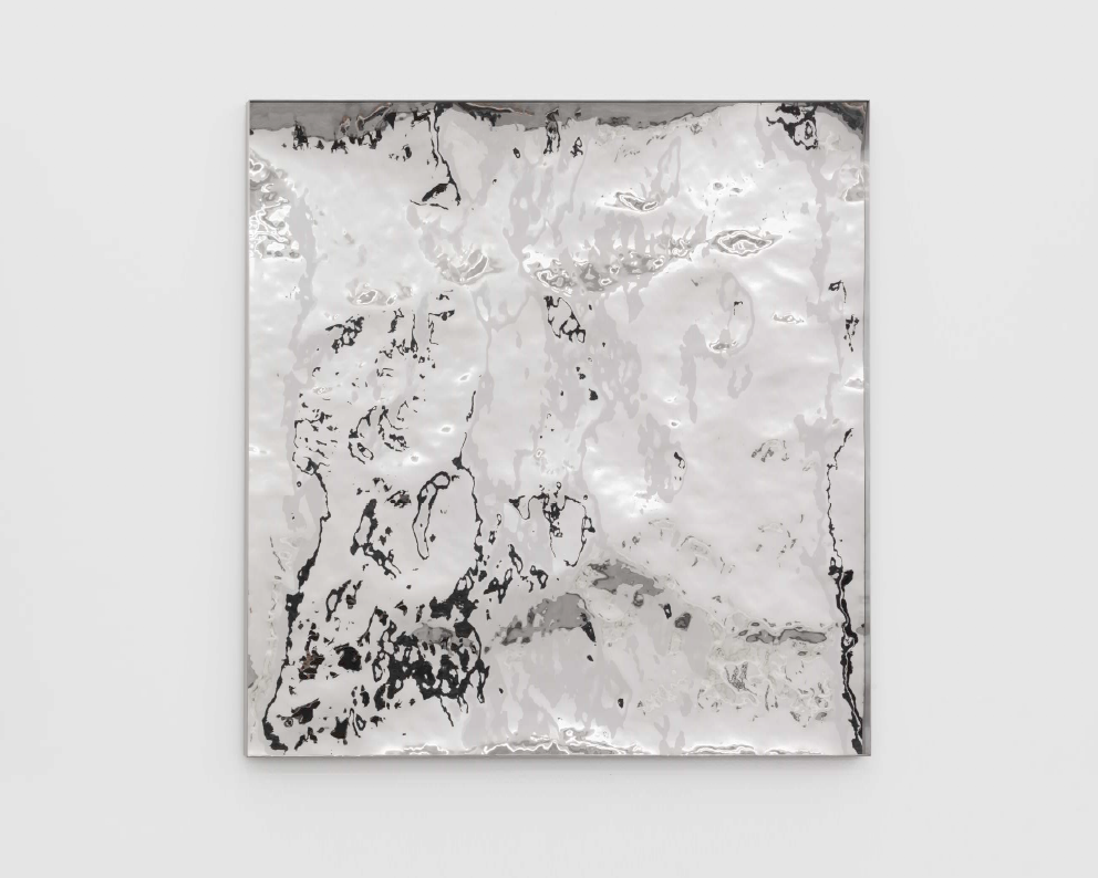 Imprinting Terrain No. 25, 2015, Stainless steel, 100x100cm.png