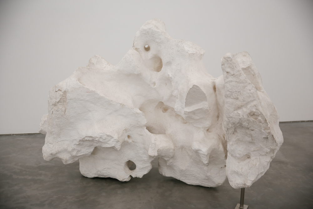 Plaster Model, 2015, Unique, Plaster, 193x107x130cm With metal brace Exhibition View  ©️CAFA ART INFO Photo by Hu Sichen 23.jpg