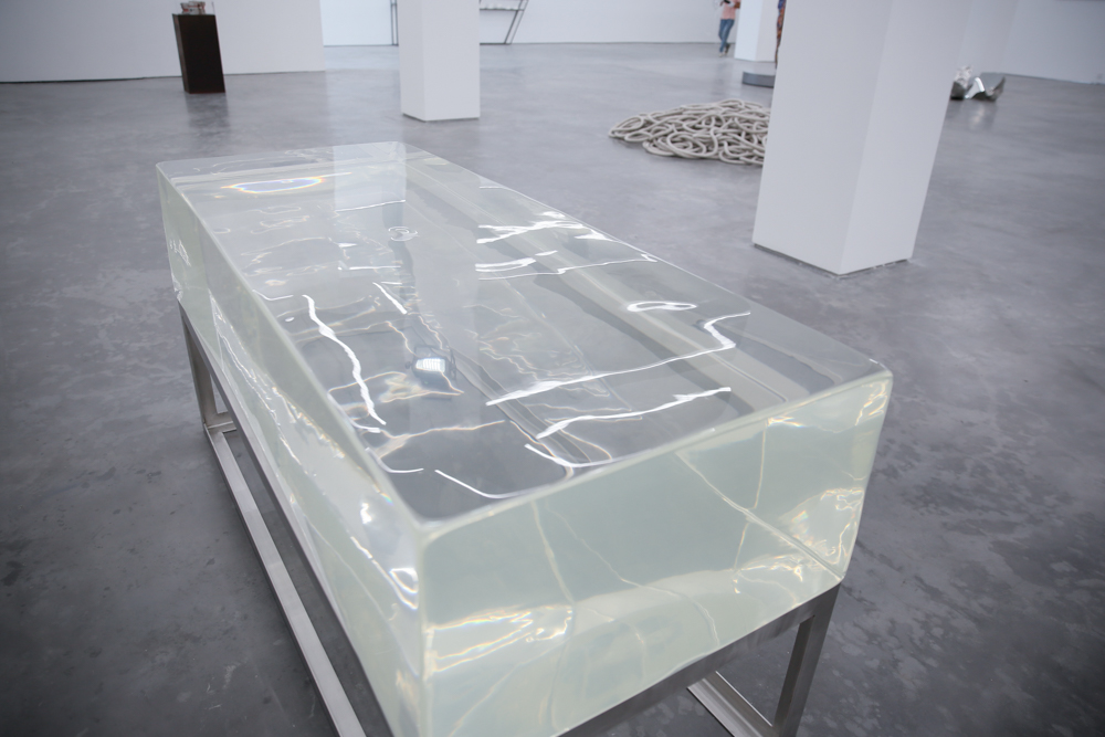 Concealed Rock No. 2, 2012, Acrylic resin, 180x73x38.5cm Exhibition View  ©️CAFA ART INFO Photo by Hu Sichen 13.jpg