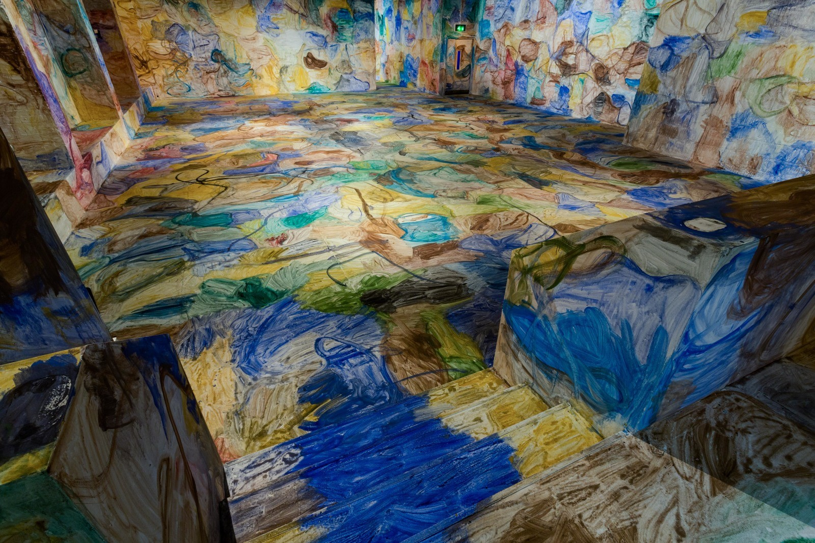 Space Painting, Zhang Enli, Installation view at Institute of Contemporary Arts, London, 2013. Photo by Mark Blower..jpg
