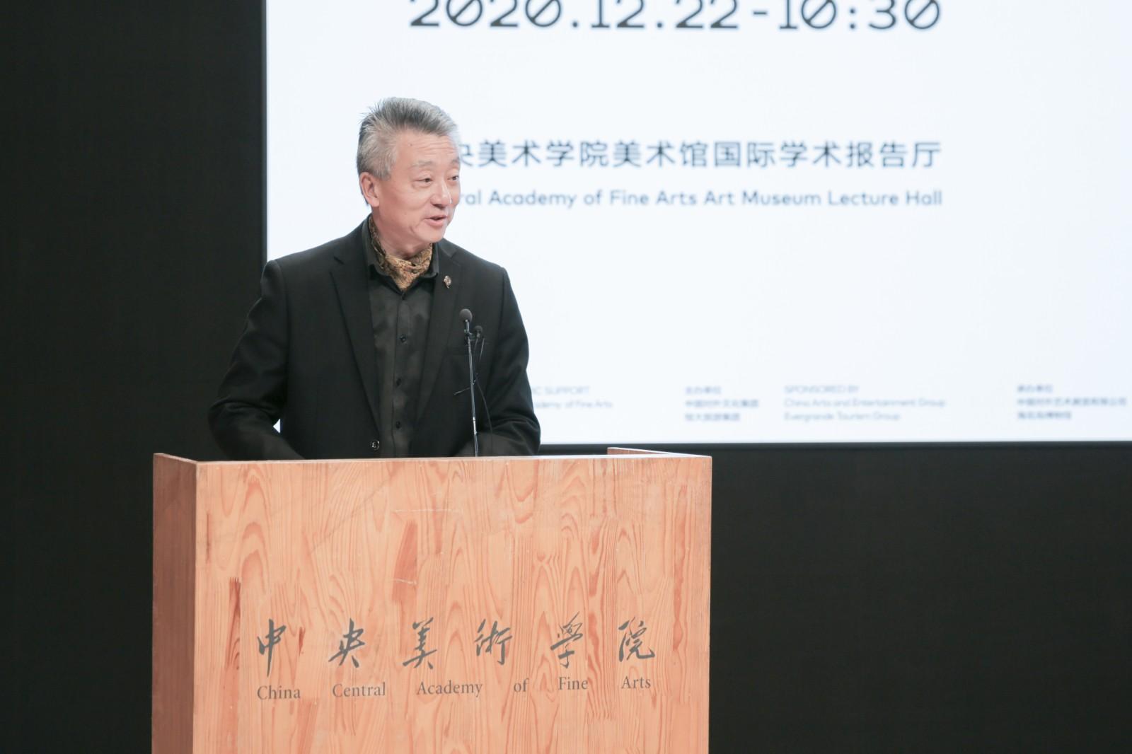 12、恒大旅游集团副总裁、海花岛运营总公司总经理李登海代表主办方发言