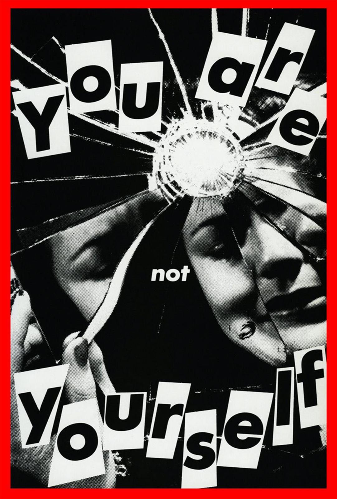 8克鲁格尔《无题系列:你不是你自己》