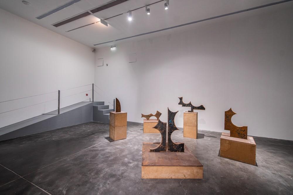 13 邵一,《無相系列》,2011,鋼板,尺寸可變
